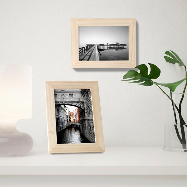 ALBRUNNA Fotolijst, grenen, 10x15 cm