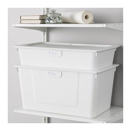 Super ALGOT Bak Wit 38 x 60 x 29 cm/45 l - IKEA #WS15