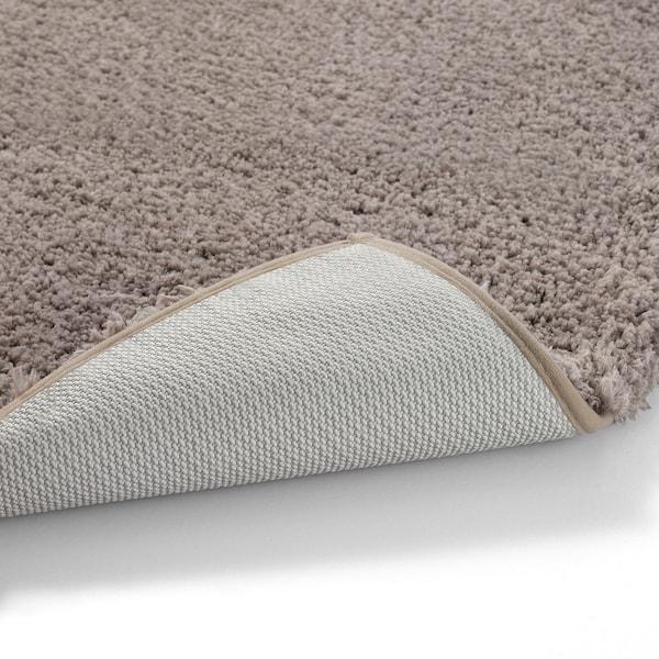 ALMTJÄRN Badmat, beige, 60x90 cm