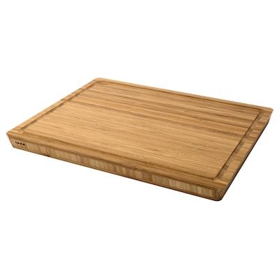 APTITLIG Slagersblok, bamboe, 45x36 cm