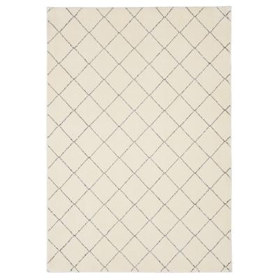 ARNAGER vloerkleed wit/beige 200 cm 140 cm 2.80 m²