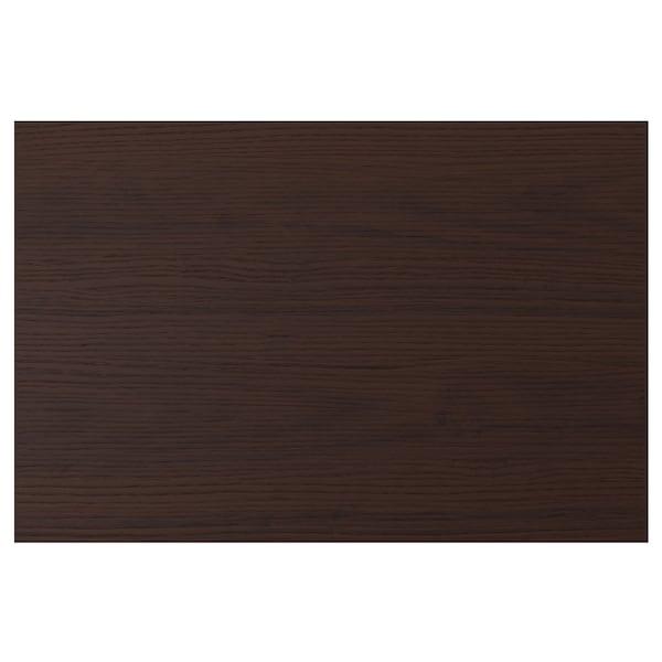 ASKERSUND Deur, donkerbruin essenpatroon, 60x40 cm