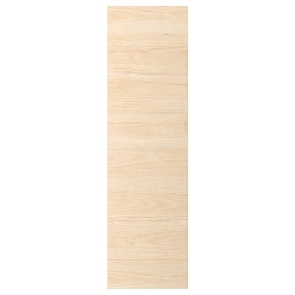 ASKERSUND Deur, licht essenpatroon, 40x140 cm