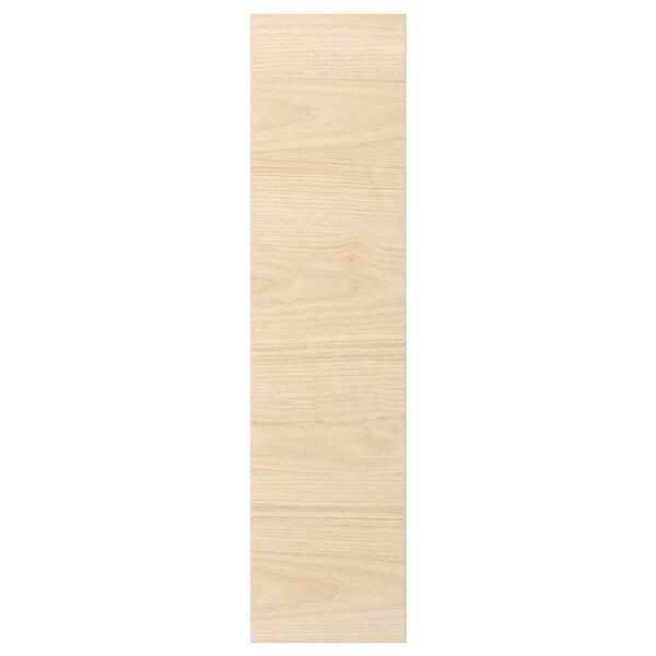 ASKERSUND Deur, licht essenpatroon, 20x80 cm