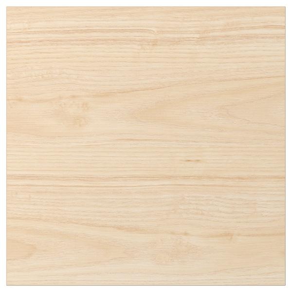 ASKERSUND Deur, licht essenpatroon, 40x40 cm