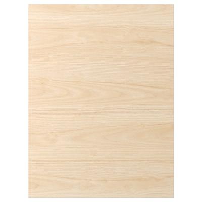 ASKERSUND Deur, licht essenpatroon, 60x80 cm