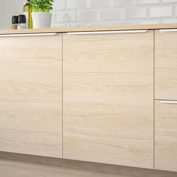 ASKERSUND Deur, licht essenpatroon, 30x60 cm