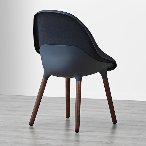 Eetkamer Stoel Ikea.Baltsar Eetkamerstoel Zwartblauw Bruin Ikea
