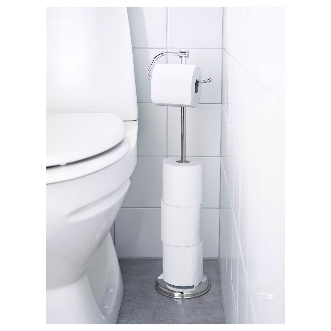 balungen toiletpapierhouder verchroomd ikea. Black Bedroom Furniture Sets. Home Design Ideas