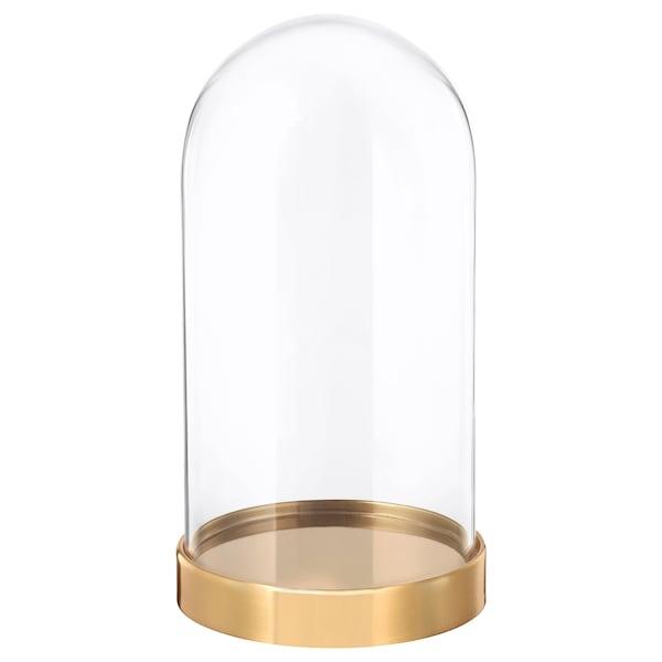 BEGÅVNING Glazen stolp met schotel, 19 cm