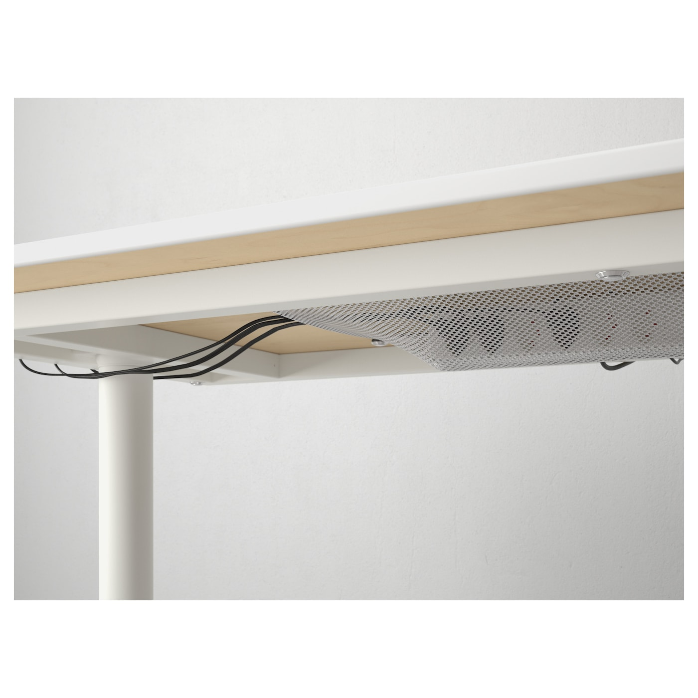 bekant bureau berkenfineer wit 140x60 cm ikea. Black Bedroom Furniture Sets. Home Design Ideas
