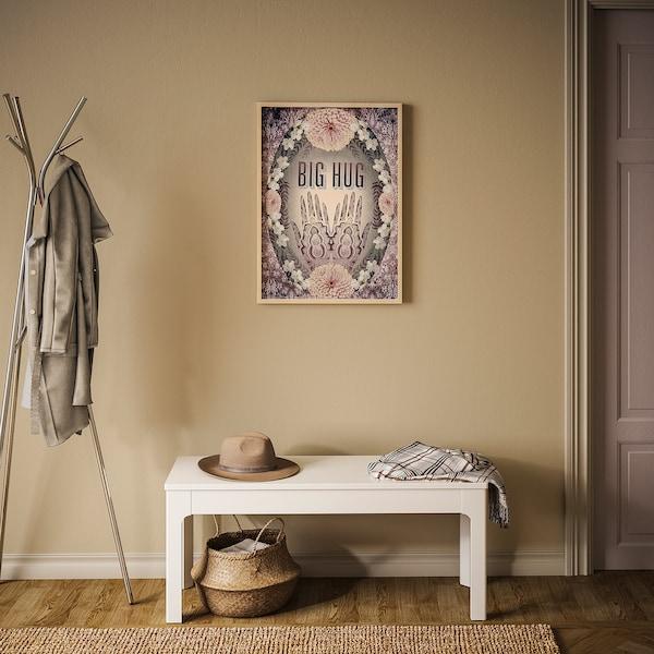 BILD Poster, Hennahanden, 50x70 cm