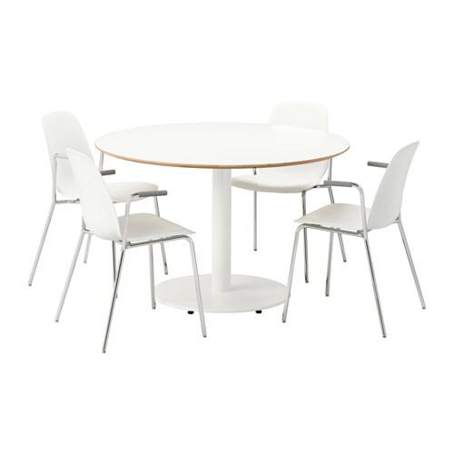Billsta leifarne tafel en 4 stoelen ikea - Tafel en stoelen dineren ...