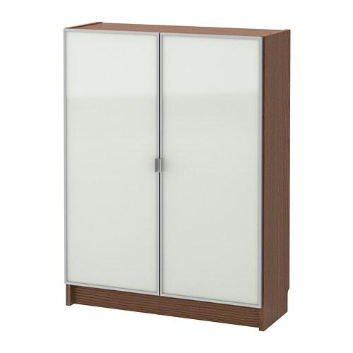 ikea billymorliden boekenkast met glazen deur verstelbare planken naar behoefte aan te passen