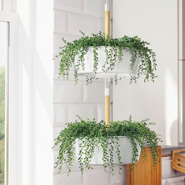BITTERGURKA Plantenhanger, wit