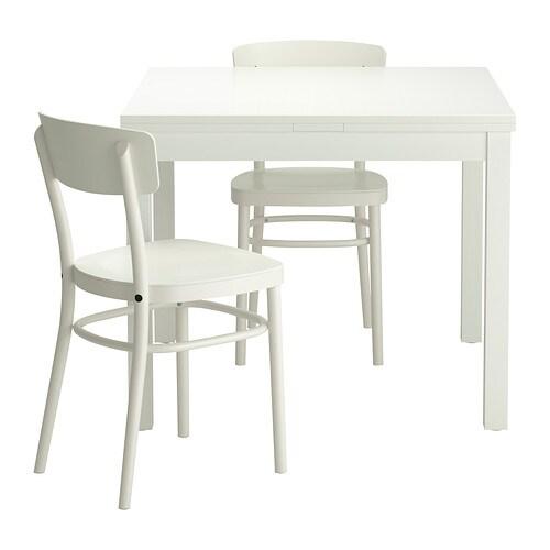 Bjursta idolf tafel met 2 stoelen ikea - Tafel woonkamer van de wereld ...