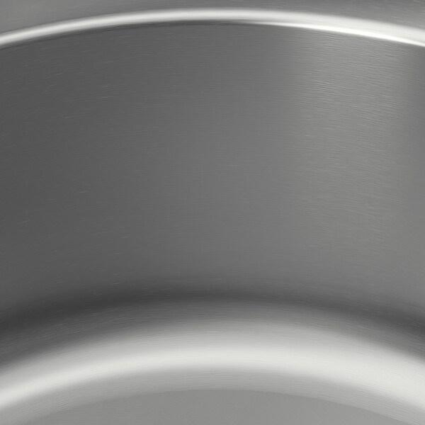 BOHOLMEN Inbouwspoelbak 1 bak, roestvrij staal, 45 cm