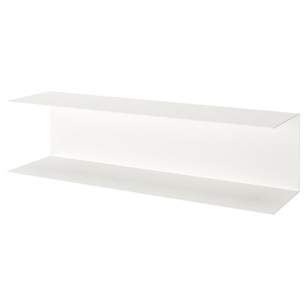 BOTKYRKA Wandplank, wit, 80x20 cm