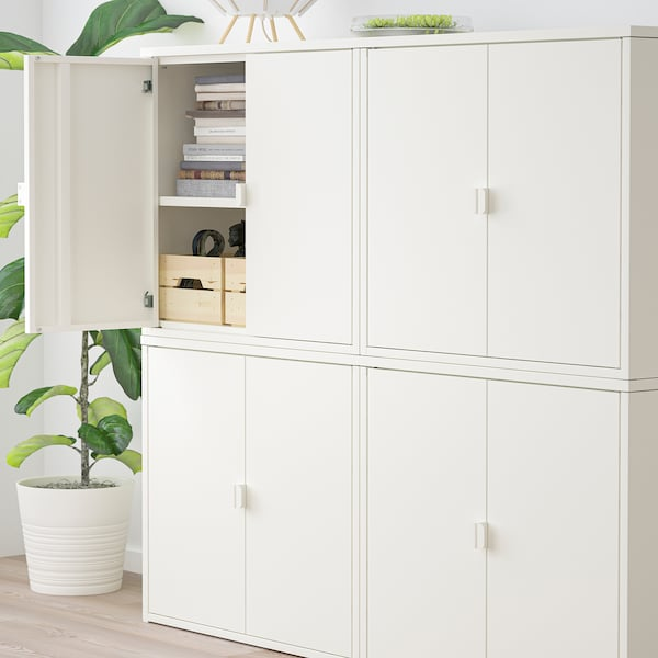 BROR Kastdeel, wit, 170x40x110 cm