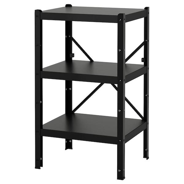BROR Open kast, zwart, 65x55x110 cm