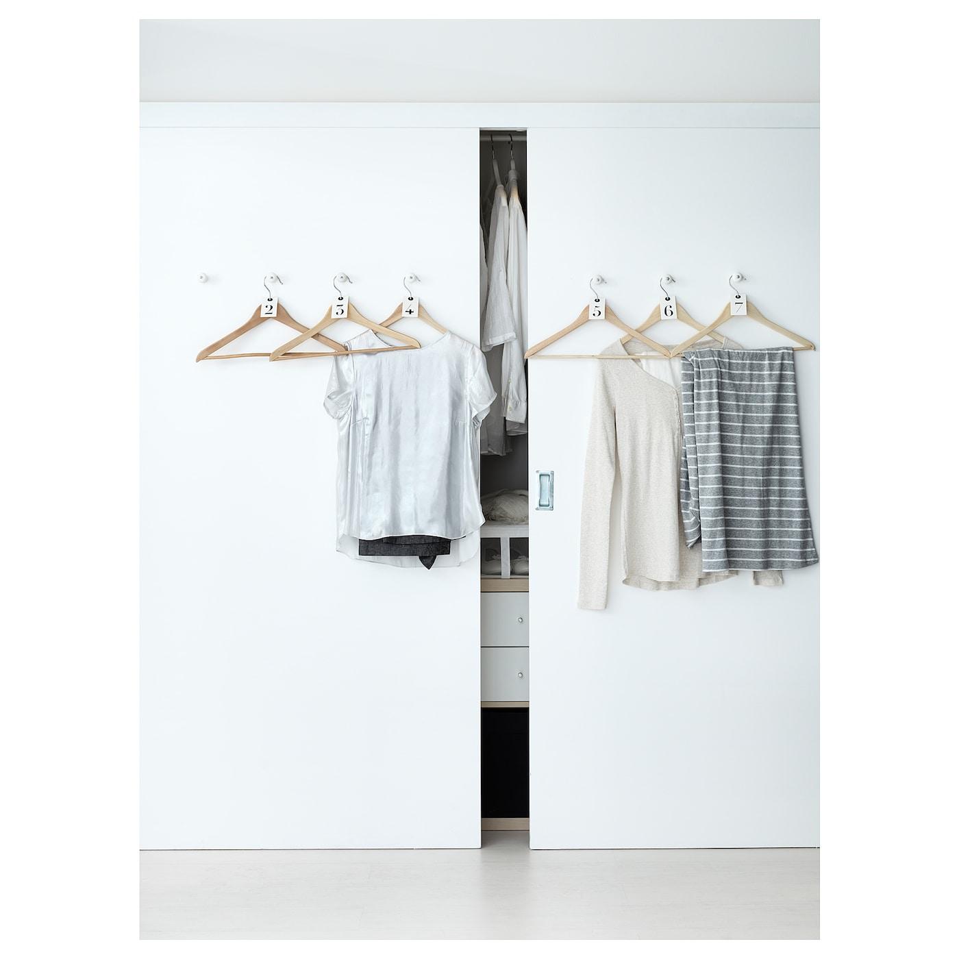 bumerang kleerhanger naturel ikea. Black Bedroom Furniture Sets. Home Design Ideas