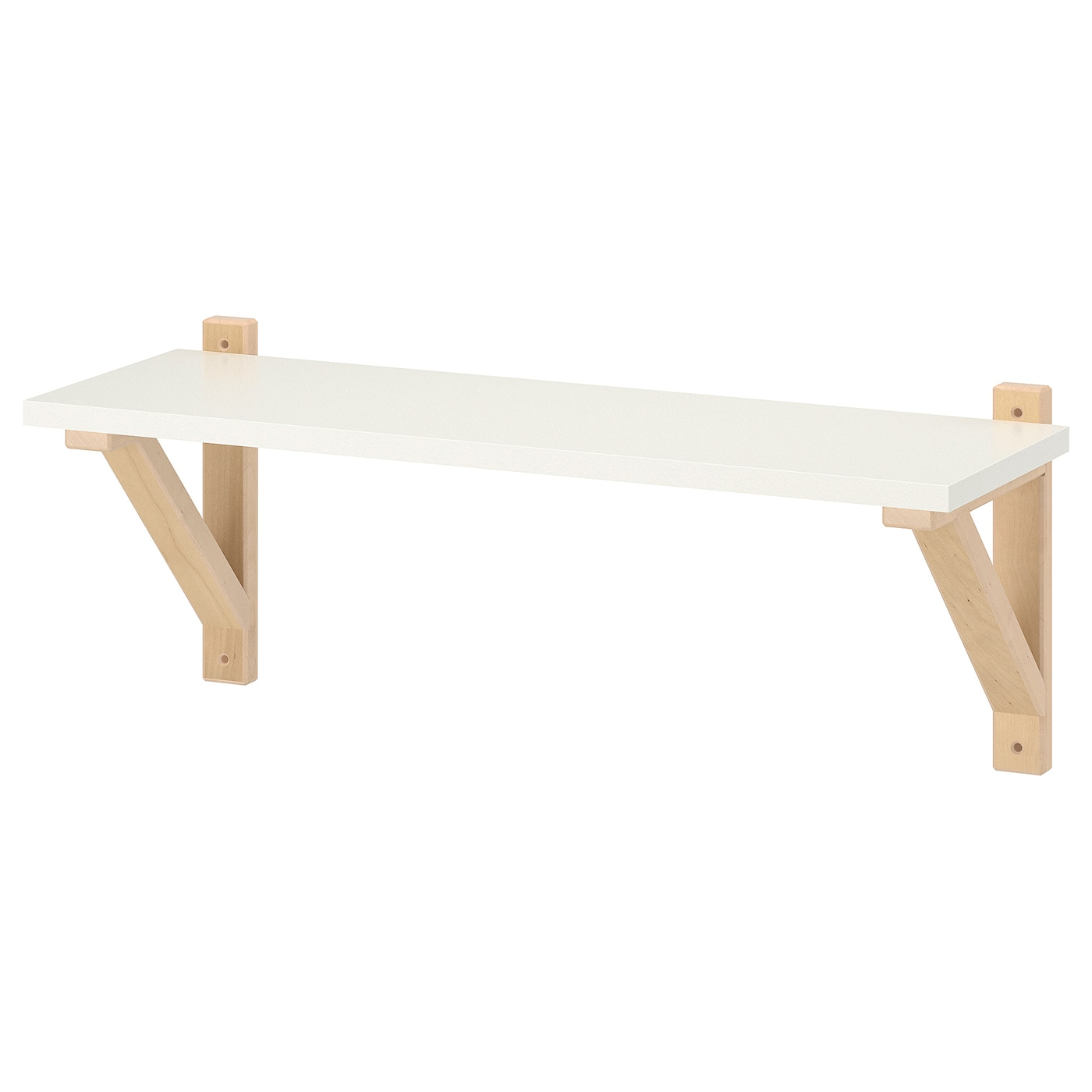 Witte Plank Op Maat.Wandplanken Ikea
