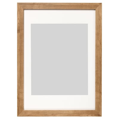 DALSKÄRR Fotolijst, houteffect/lichtbruin, 50x70 cm