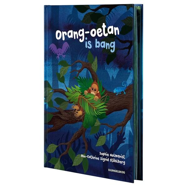 DJUNGELSKOG Boek, Orang-oetan is bang