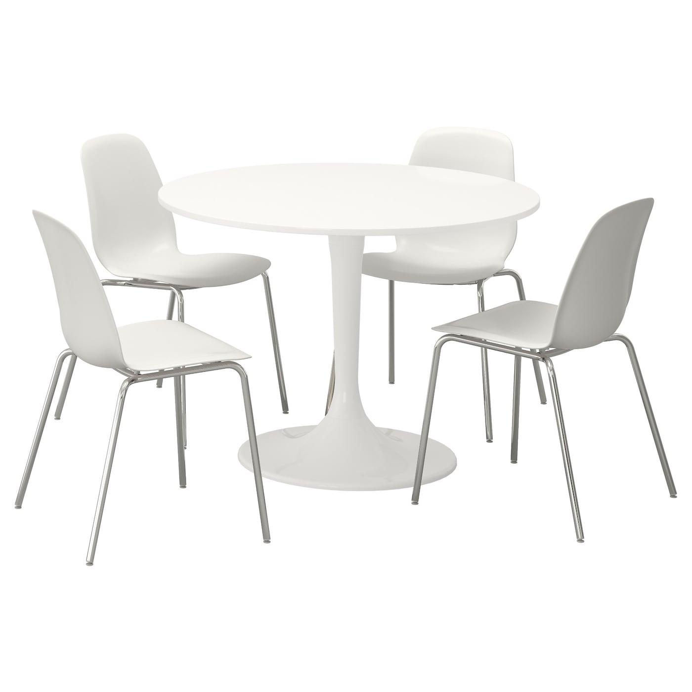 Eetkamerset eettafel met stoelen design goedkoop ikea for Ikea tafels