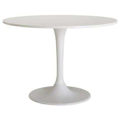 DOCKSTA tafel wit/wit 75 cm 103 cm