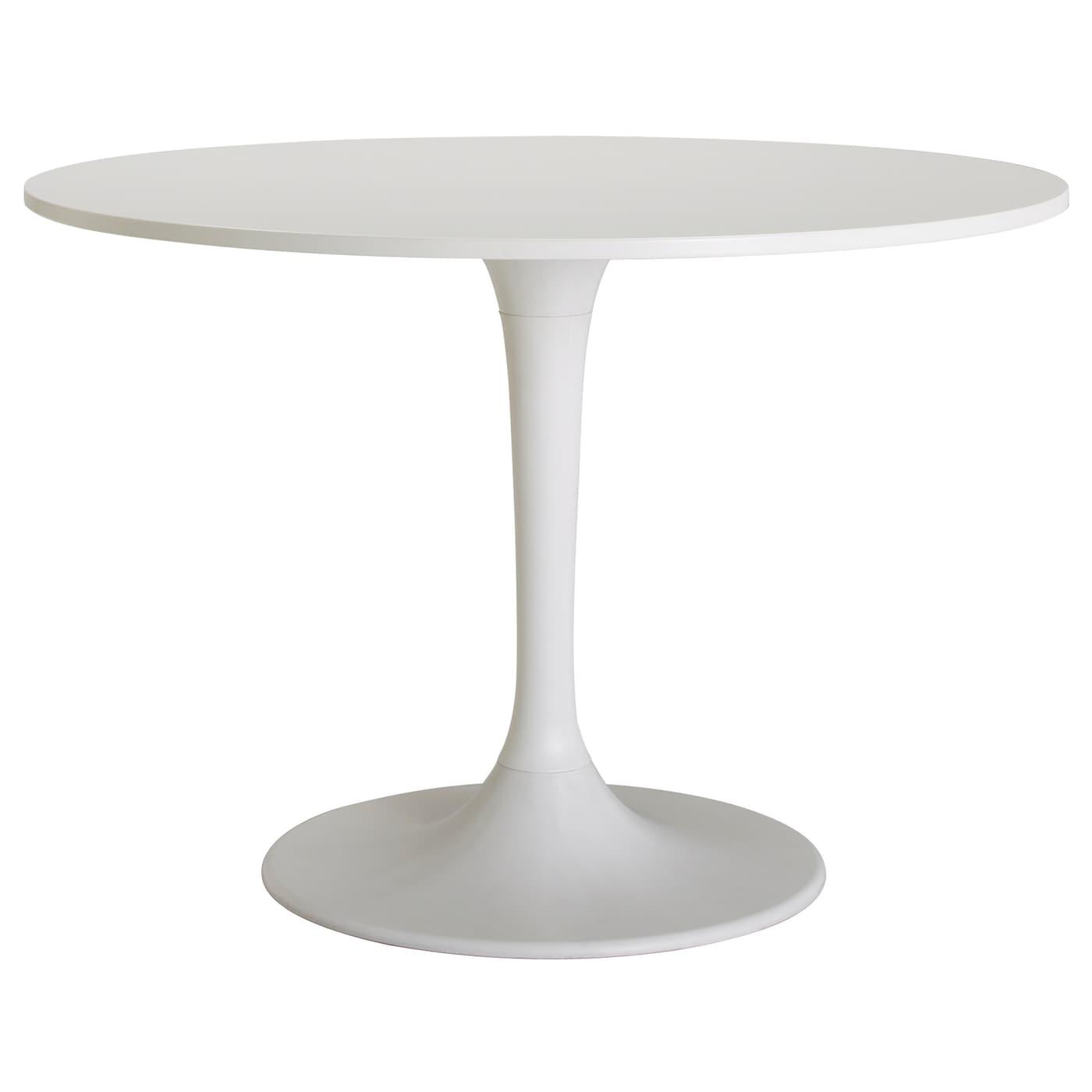 Witte Ronde Keukentafel.Docksta Tafel Wit 105 Cm Ikea