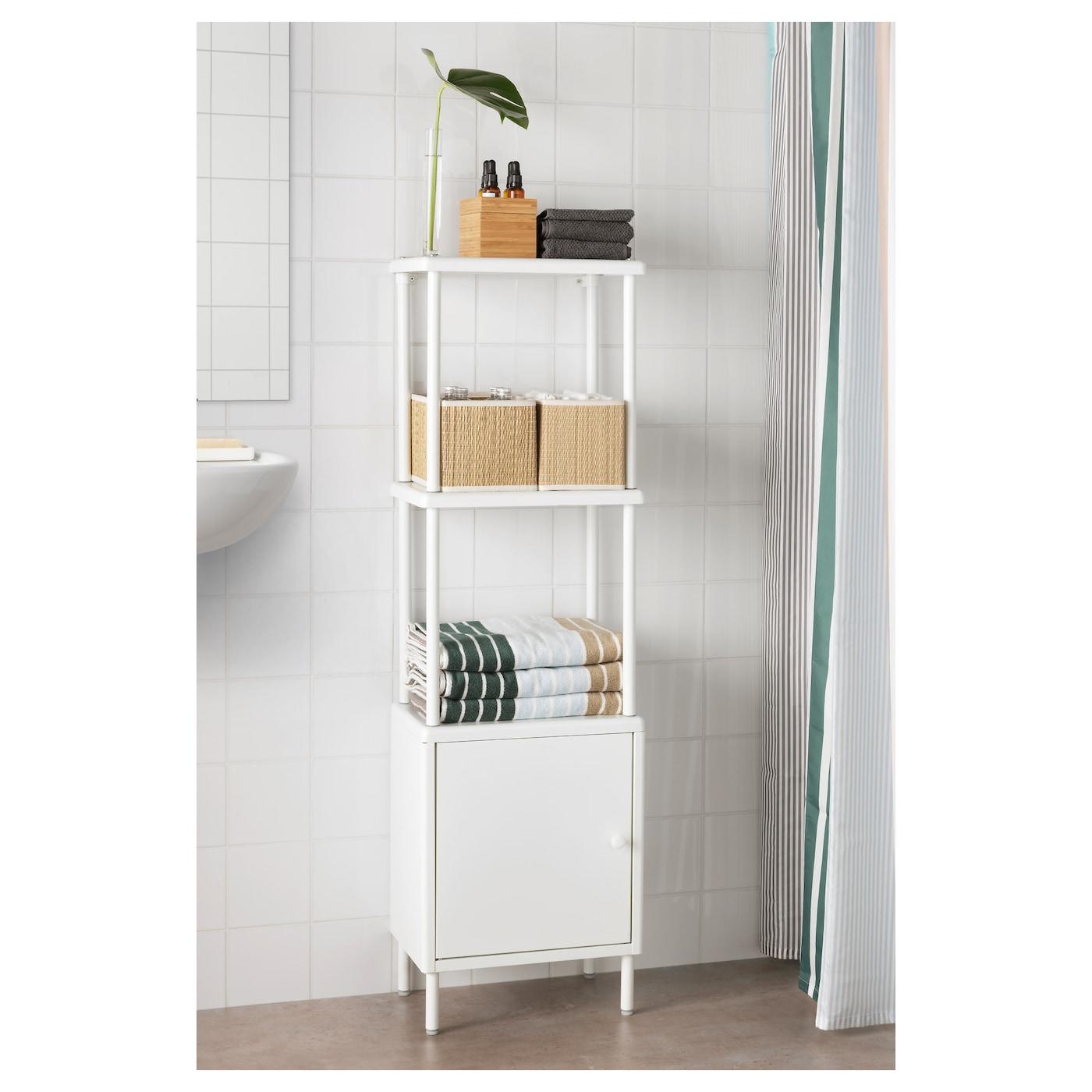 DYNAN Kast met deur Wit 40 x 27 x 54 cm - IKEA