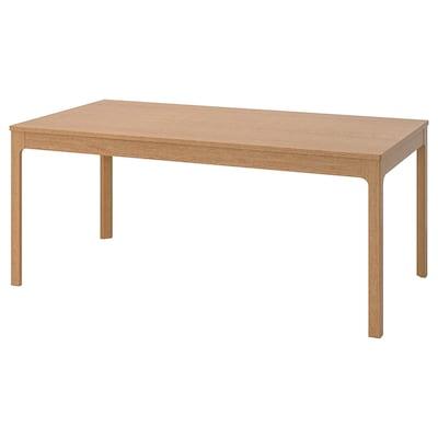 EKEDALEN uitschuifbare tafel eiken 180 cm 240 cm 90 cm 75 cm