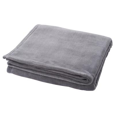 ELSABRITT Plaid, grijs, 130x170 cm