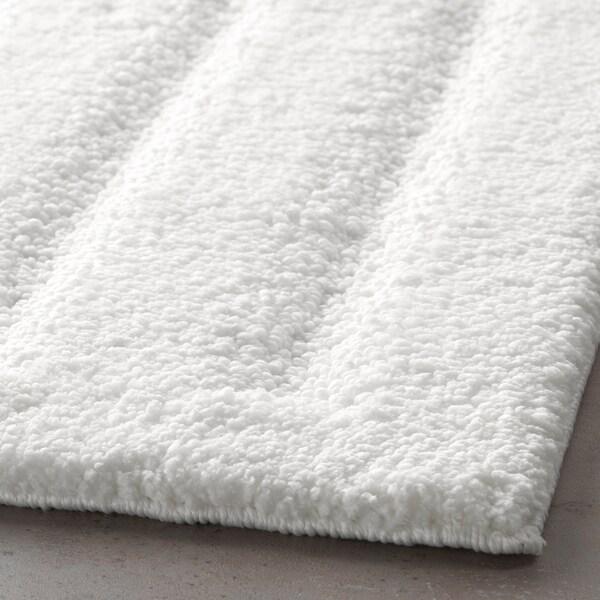 EMTEN Badmat, wit, 50x80 cm