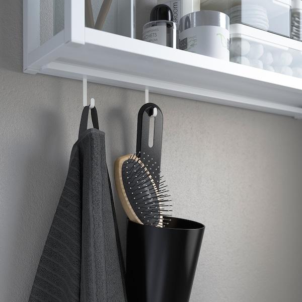 ENHET Rail voor haken, wit, 37 cm