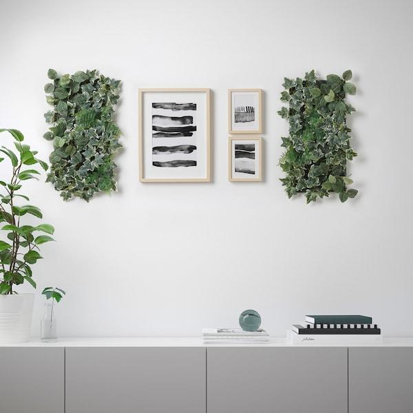 Fejka Kunstplant Wandgemonteerd Binnen Buiten Groen Ikea