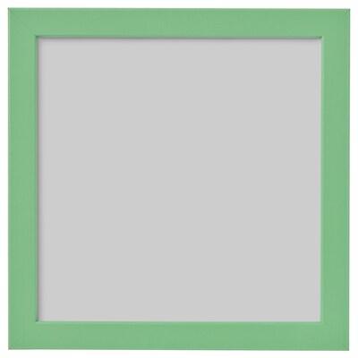 FISKBO Fotolijst, lichtgroen, 21x21 cm
