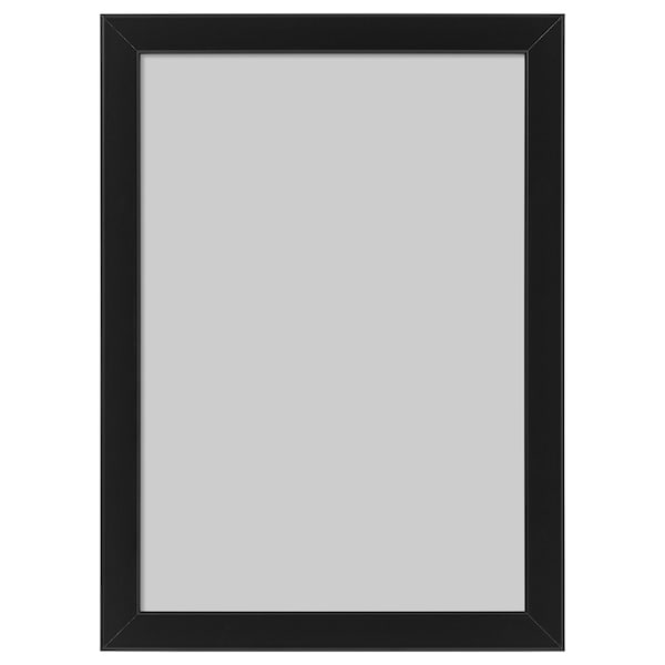 FISKBO Fotolijst, zwart, 21x30 cm