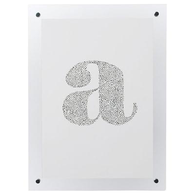 FORNBRO Fotolijst, transparant, 21x30 cm