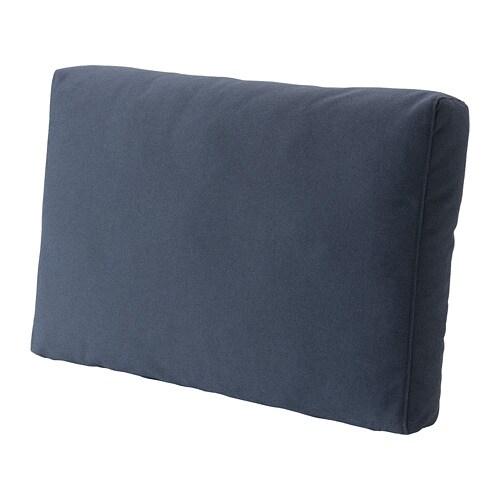 FRÖSÖN Hoes voor rugkussen Buiten blauw 62x44 cm - IKEA