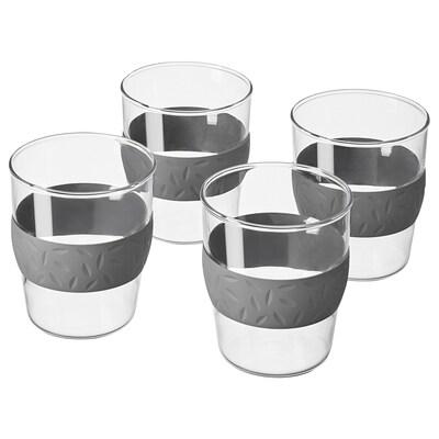 GLASBULT glas helder glas 12 cm 4 st.