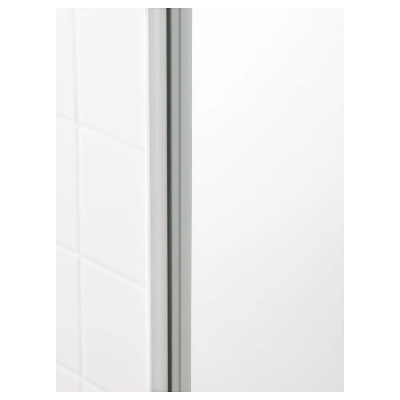 godmorgon hoge kast met spiegeldeur hoogglans wit. Black Bedroom Furniture Sets. Home Design Ideas
