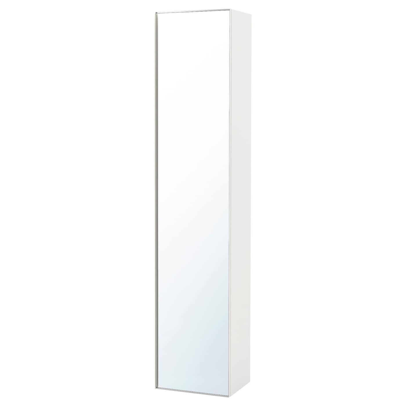 Spiegel op wielen trogen lichtgrijs with spiegel op for Ladenblok wit wielen