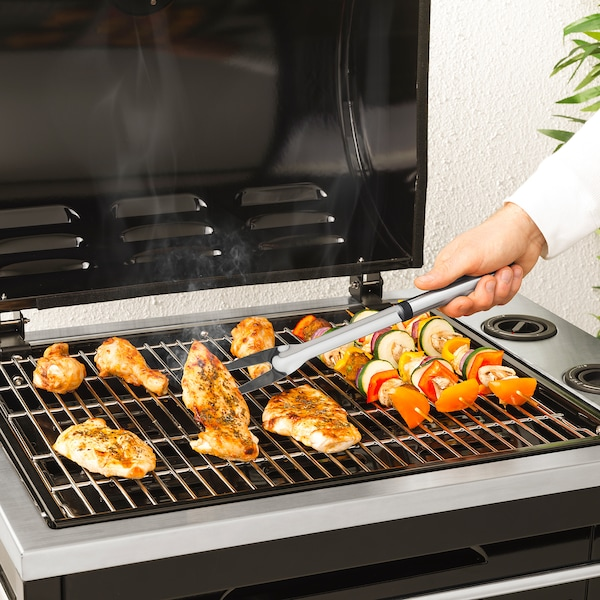 GRILLTIDER Barbecuegereedschap, 3-delig