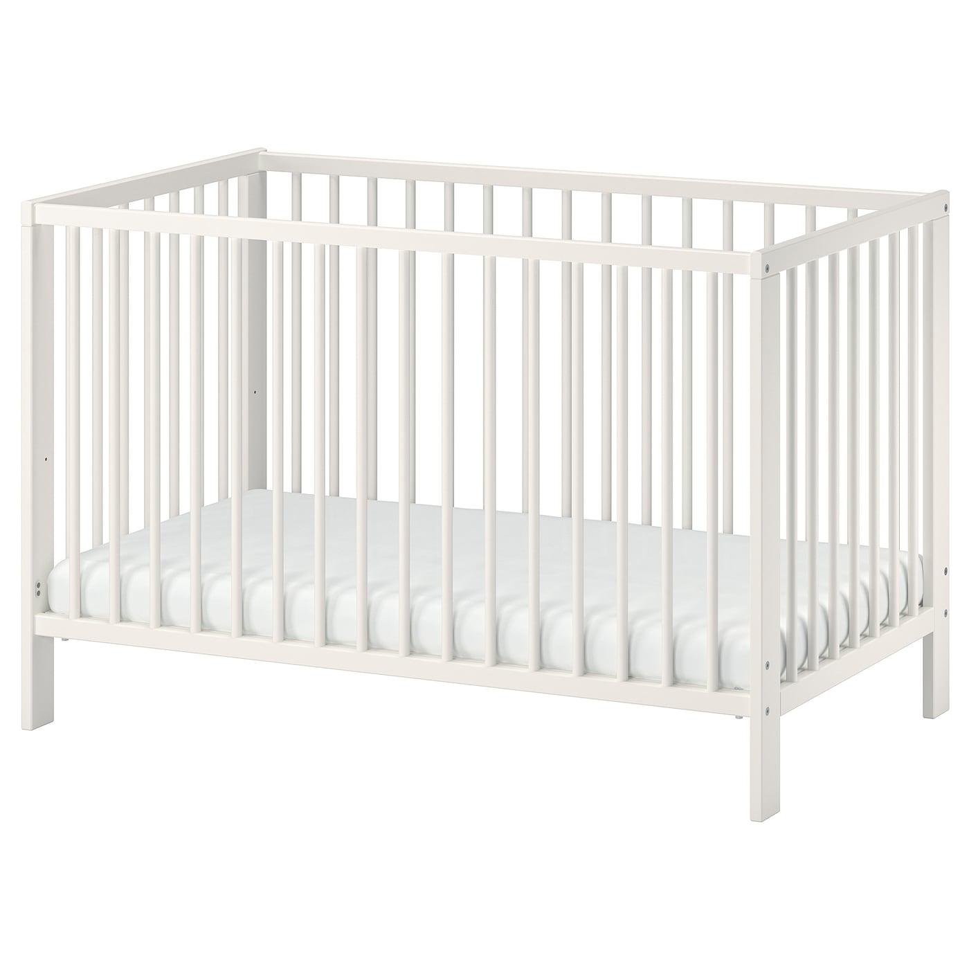 Te Koop Babybedje.Gulliver Babybedje Wit 60 X 120 Cm Ikea