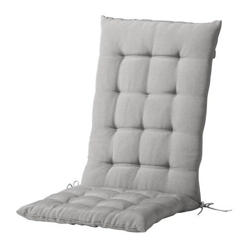 HÅLLÖ Zit-/rugkussen, buiten Grijs 116x47 cm - IKEA