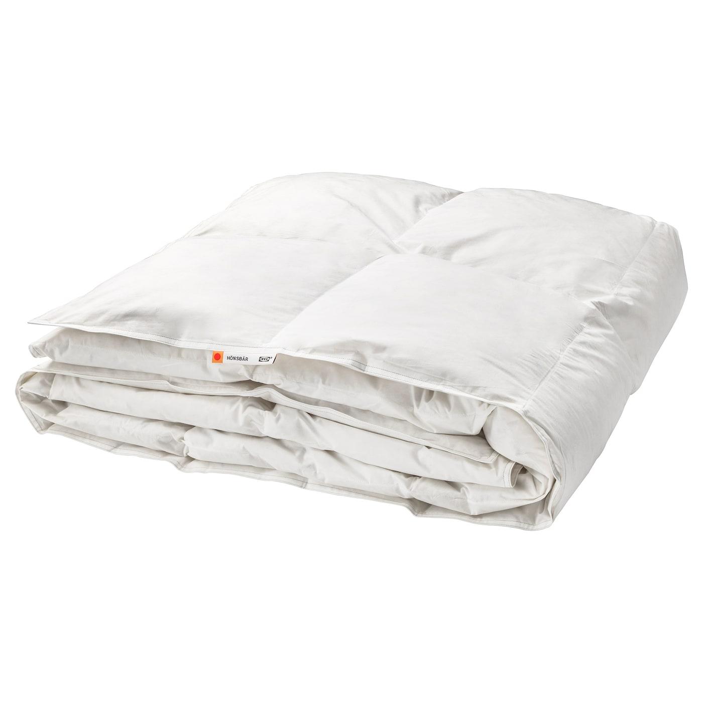 """IKEA H–NSB""""R dekbed warmer Een warm dekbed van zachte katoen gevuld met eendendons en veren"""
