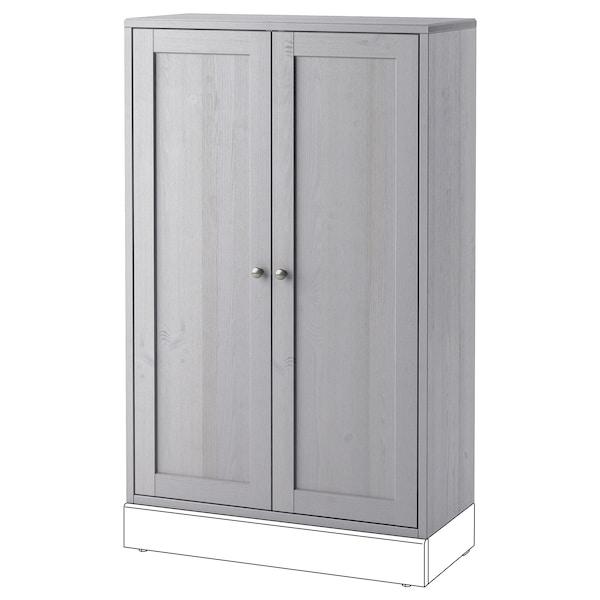 HAVSTA Kast, grijs, 81x35x123 cm