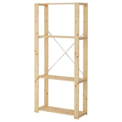 HEJNE 1 element, naaldhout, 78x31x171 cm